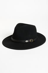 Bailey 'Briar' Wool Fedora Black