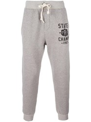 Polo Ralph Lauren 'State Champs' Drawstring Joggers Grey
