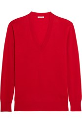 Tomas Maier Cashmere Sweater Tomato Red