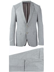 Hugo Boss Formal Two Piece Suit Grey