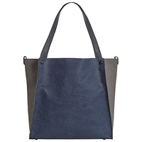 White Stuff Townhouse Shopper Bag Blue