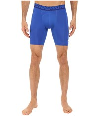 Nike Cool Compression 6 Shorts Game Royal Deep Royal Blue White Men's Shorts