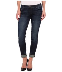 Kut From The Kloth Relaxed Catherine Boyfriend In Sagcious Sagcious Women's Jeans Blue