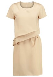 Patrizia Pepe Summer Dress Ethic Beige