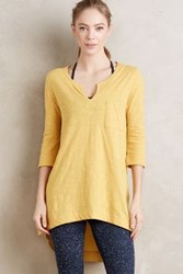 Anthropologie Adama Tee Dark Yellow