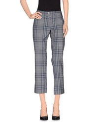 Burberry Brit Trousers 3 4 Length Trousers Women Slate Blue