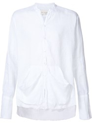 Greg Lauren 'Studio' Shirt White