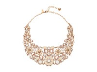Kate Spade Pearl Street July Statement Necklace Blush Multi