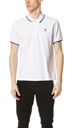 Opening Ceremony Torch Classic Fit Short Sleeve Polo White