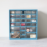 Drawer Supplies Cabinet By Amradio On Etsy