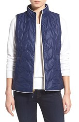Women's Vineyard Vines 'Whale Tail' Zigzag Quilted Vest