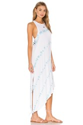 Obey Permanent Vacation Dress White