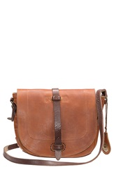 Will Leather Goods 'Seneca' Leather Crossbody Bag Tan