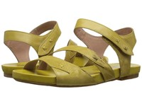 Miz Mooz Artemis Yellow Women's Sandals