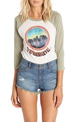 Billabong Women's 'Highway' Distressed Denim Shorts Indigo Overcast