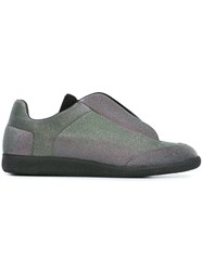 Maison Martin Margiela Slip On Sneakers Metallic