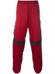 Astrid Andersen Colour Block Track Pants Red