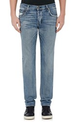 Rag And Bone Men's Slim Low Rise Fit 2 Jeans Blue