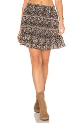 Maison Scotch Ruffle Skirt Black
