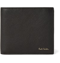 Paul Smith Full Grain Leather Billfold Wallet Black