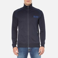Hugo Boss Men's Zipped Track Jacket Dark Blue