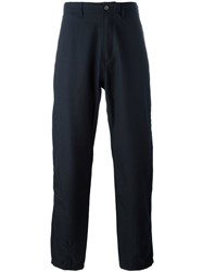 Universal Works Loose Fit Trousers Blue