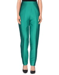 Francesco Scognamiglio Trousers Casual Trousers Women Green