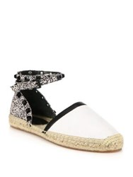 Rebecca Minkoff Gilles Studded Mesh And Leather Espadrilles