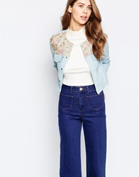 Sister Jane Queen Aurora Denim Jacket Blue