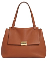 Salvatore Ferragamo Ginger Grained Leather Tote