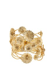 Aurelie Bidermann Athina Gold Plated Bracelet Yellow Gold