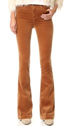 Ag Jeans The Janis High Rise Flare Pants Toffee Brown