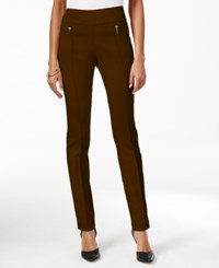 Styleandco. Style Co. Pull On Skinny Pants Only At Macy's Rich Truffle