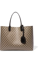 Gucci Turnaround Medium Reversible Leather Tote Beige