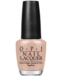 Opi Nail Lacquer Pale To The Chief No Color