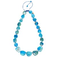 Lola Rose Quentin Necklace Blue Agate
