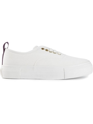Eytys Canvas Sneakers White