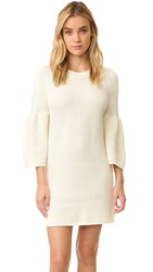 Minkpink Shameless Rib Knit Dress Cream