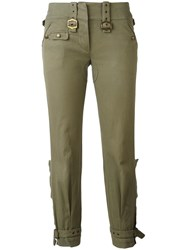 Christian Dior Vintage Cropped Trousers Green