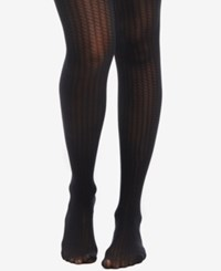 Motherhood Maternity Ribbed Tights Black