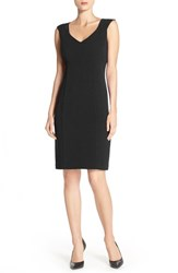 Women's Marc New York Empire Waist Sheath Dress Black