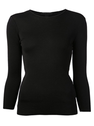 Ralph Lauren Black Basic Top