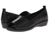 Hush Puppies Petra Carlisle Black Leather Women's Sandals