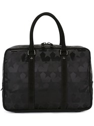 Ports 1961 'Star Camouflage' Briefcase Black