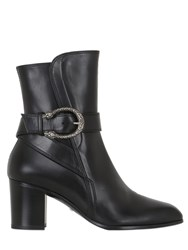 Gucci 65Mm Dionysus Leather Ankle Boots