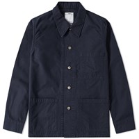 Visvim Travail Coverall Jacket Blue