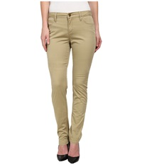 Christopher Blue Sophia Skinny Carmel Twill Cork Women's Casual Pants Brown