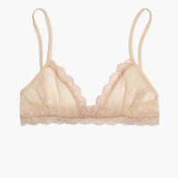 Madewell Eberjey Delirious Triangle Bralette Bare