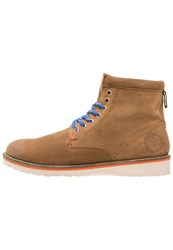 Superdry Stirling Laceup Boots Brown