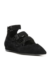Fergie Lana Point Toe Flat Black
